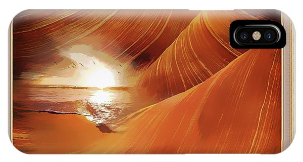 The Desert And The Tide Fantasy IPhone Case