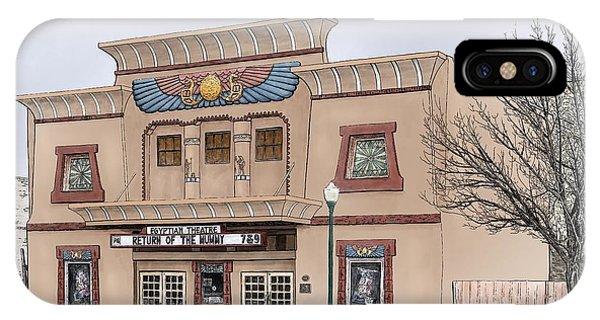 The Egyptian Theatre IPhone Case