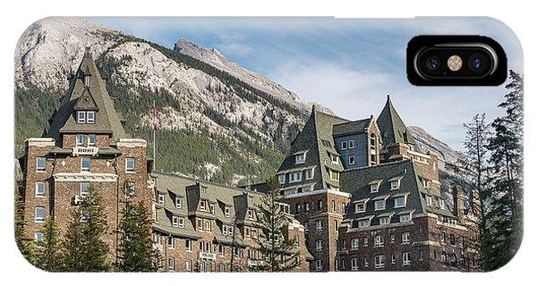 The Fairmont Banff Springs Hotel IPhone Case