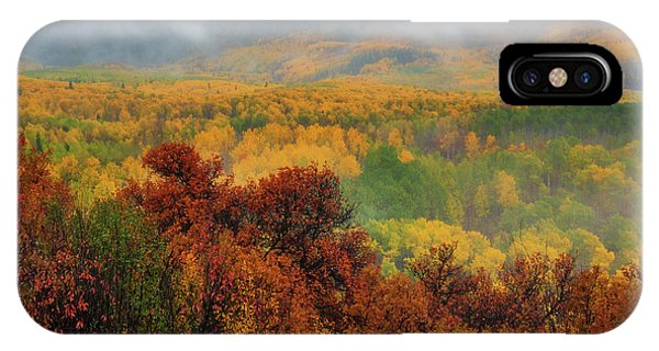 IPhone Case featuring the photograph The Feeling Of Fall by John De Bord