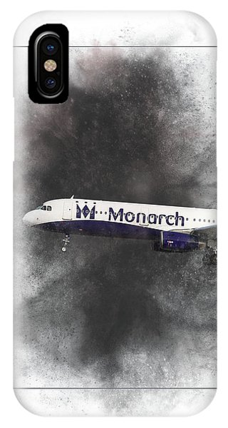Airline iPhone Case - The Final Flight Painting by Smart Aviation