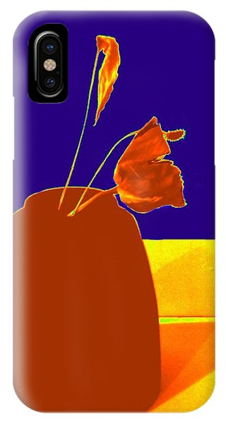 IPhone Case featuring the photograph The First Rose - Pop Art by VIVA Anderson
