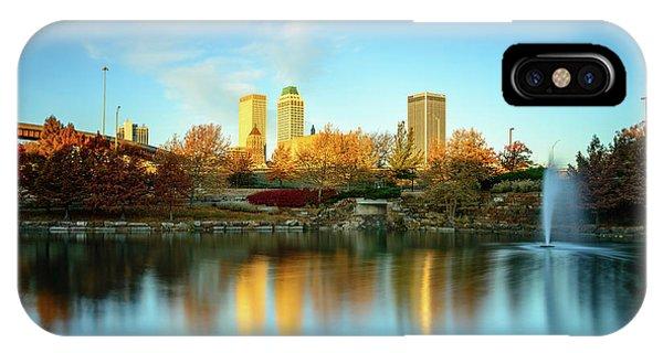 Centennial Bridge iPhone Case - The Gem Of Tulsa by Michael Scott