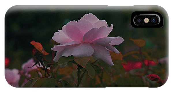 The Glowing Rose IPhone Case