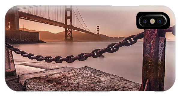 IPhone Case featuring the photograph The Golden Gate by Francisco Gomez