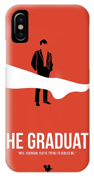 Celebration iPhone Case - The Graduate by Naxart Studio
