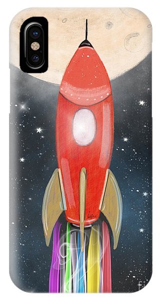 Solar System iPhone Case - The Great Adventure by Bri Buckley