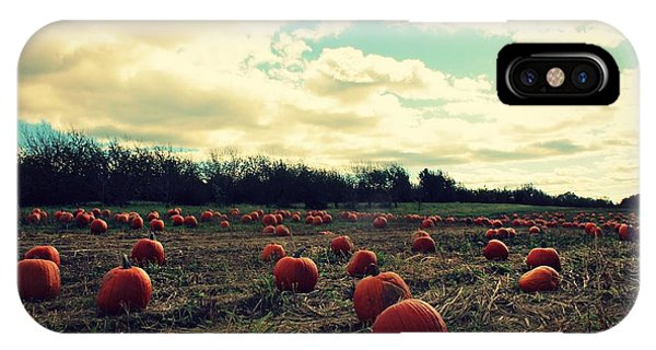 IPhone Case featuring the photograph The Great Pumpkin by Candice Trimble