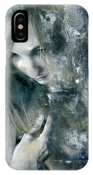 Figurative iPhone Case - The Hidden Wings by Patricia Ariel