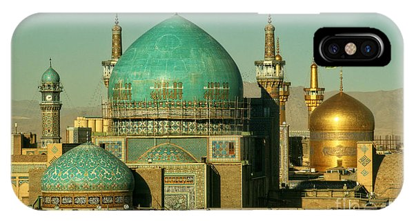 Poor iPhone Case - The Imam Reza Shrine In Masshad, Iran by Travel Stock