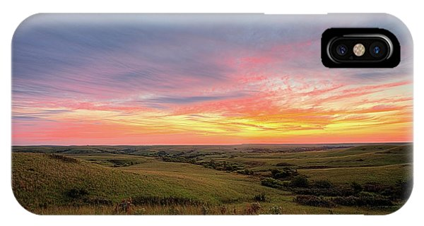 IPhone Case featuring the photograph The Kansas Flint Hills by JC Findley