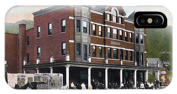 Hotel iPhone Case - The Lewis Hotel by Greg Joens