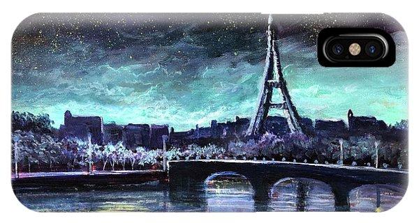 The Lights Of Paris IPhone Case