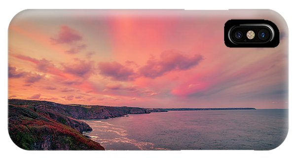 The Lizard Point Sunset IPhone Case