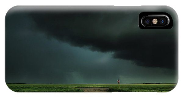 Middle Of Nowhere iPhone Case - The Lonely Road by Brian Gustafson