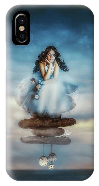 Fairytales iPhone Case - The Longest Delay by Mario Sanchez Nevado
