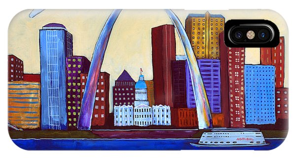 Gateway Arch iPhone Case - The Lou by David Hinds