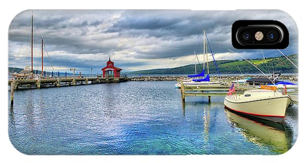 IPhone Case featuring the photograph The Marina At Seneca Lake - Finger Lakes, New York by Lynn Bauer