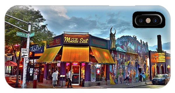 The Middle East In Cambridge Central Square Dusk IPhone Case