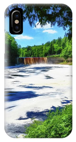 IPhone Case featuring the photograph The Mighty Tahquamenon by Mike Braun