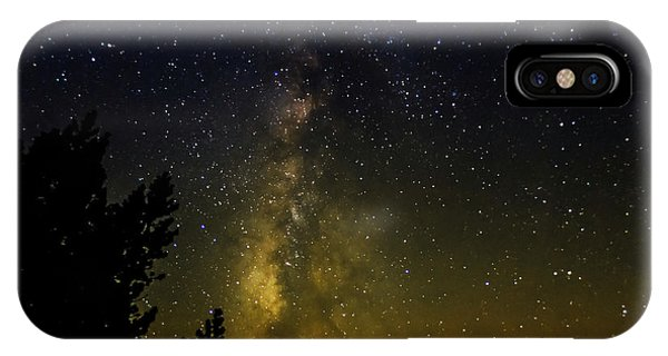 Astro iPhone Case - The Milky Way Above Dusy Basin, Kings by Russ Bishop