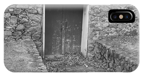 The Mill Door - Waterloo Village IPhone Case