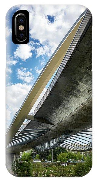 The Millennium Bridge From Below IPhone Case