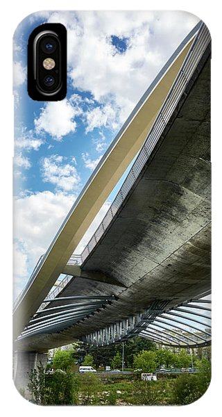 The Millennium Bridge From Below IPhone Case