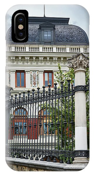 The Ministry Of Agriculture, Fisheries, Food And Environment In Madrid IPhone Case