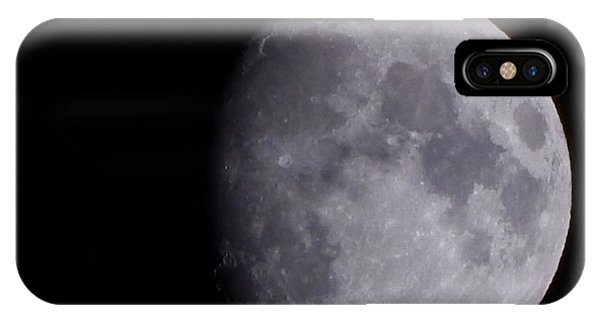 IPhone Case featuring the photograph The Moon by Lukas Miller