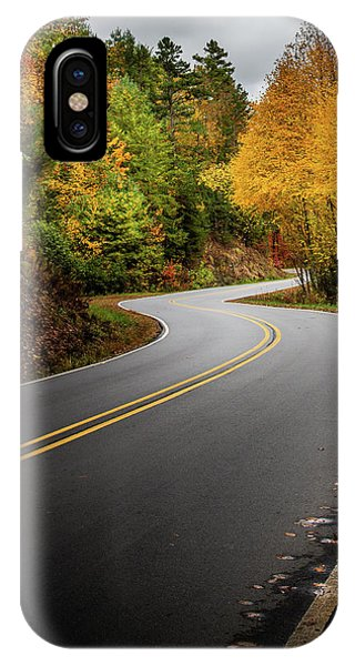 IPhone Case featuring the photograph The Mountain Road by Chrystal Mimbs