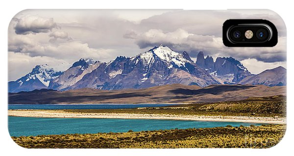The Mountains Of Torres Del Paine National Park, Chile IPhone Case