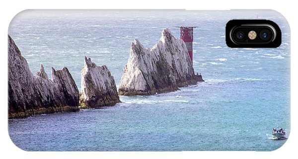 Navigation iPhone Case - The Needles Lighthouse by Martin Newman