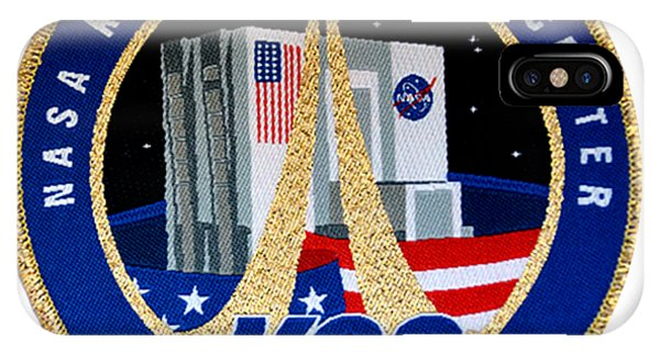 Kennedy Space Center iPhone Case - The New Kennedy Space Center Logo by Nikki