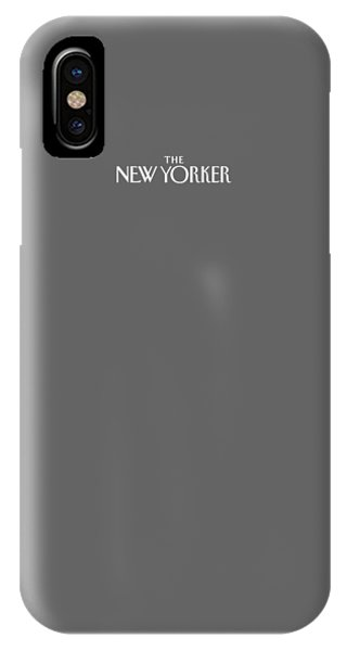The New Yorker Logo - Back Of Apparel IPhone Case