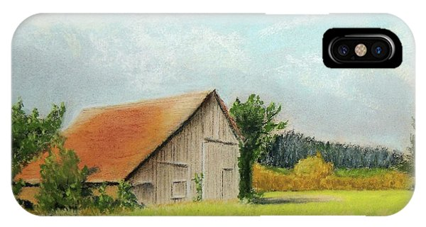 The Old Barn In The Meadow IPhone Case