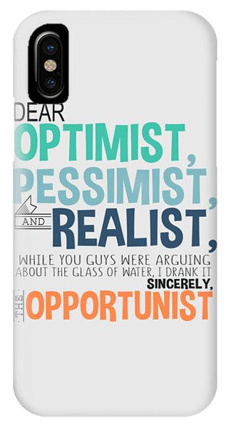 The Opportunist IPhone Case