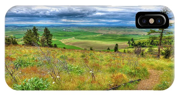 IPhone Case featuring the photograph The Path Down Kamiak Butte by David Patterson