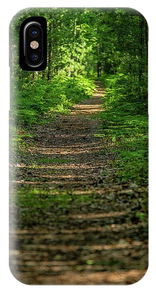iPhone Case - The Path Less Traveled by Heather Kenward