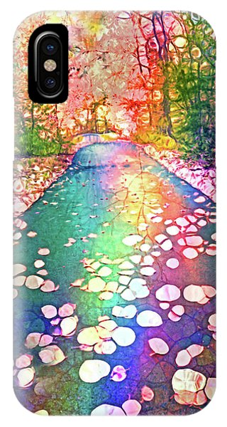 The Path Where Rainbows Meet IPhone Case