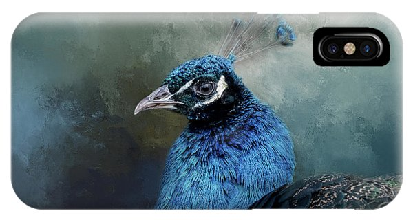 The Peacock's Crown IPhone Case