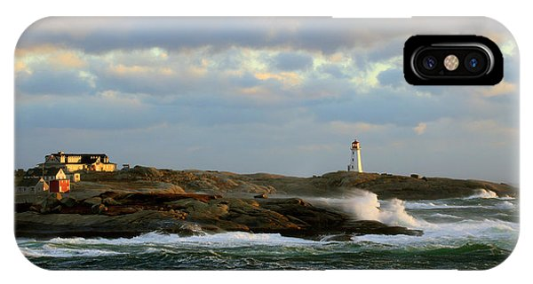 The Peggy's Cove Seascape IPhone Case