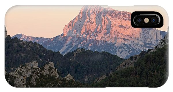 IPhone Case featuring the photograph The Pena Montanesa by Stephen Taylor