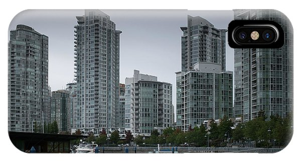 The Quayside Marina - Yaletown Apartments Vancouver IPhone Case