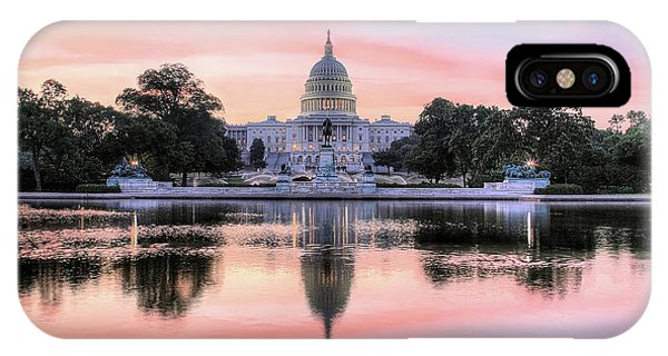 IPhone Case featuring the photograph The Republic Awakens by JC Findley