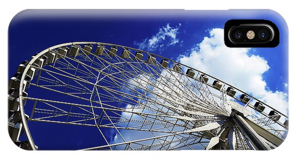IPhone Case featuring the photograph The Ride To Acrophobia by Rick Locke
