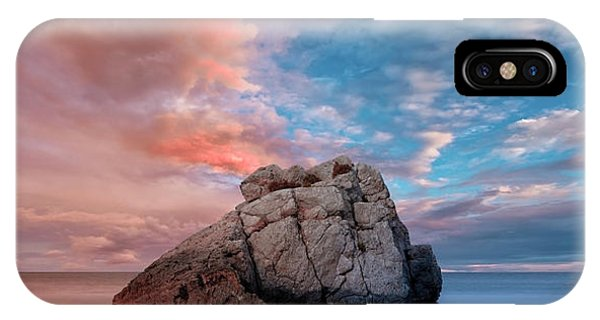 The Rock And The Sea IPhone Case