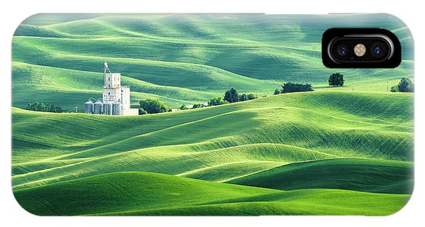 The Rolling Fields Of Palouse IPhone Case