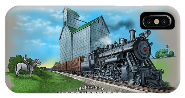 The Ross Elevator Sentinel Of The Plains IPhone Case