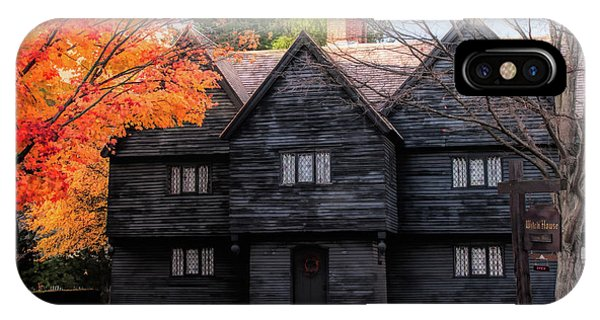 The Salem Witch House IPhone Case